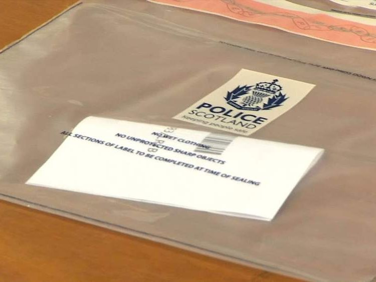 Suspect ballot paper