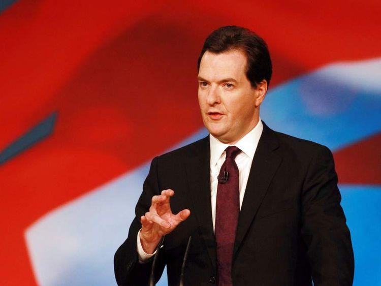 George Osborne speaking in Birmingham
