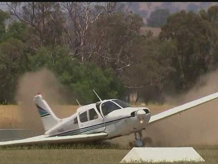 Student Pilot Lands Plane In Australia Missing A Wheel
