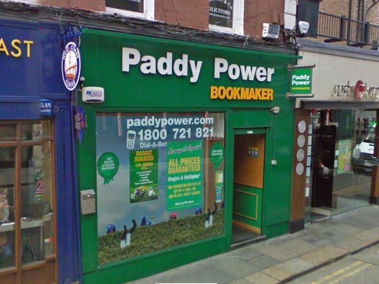Paddy Power shop