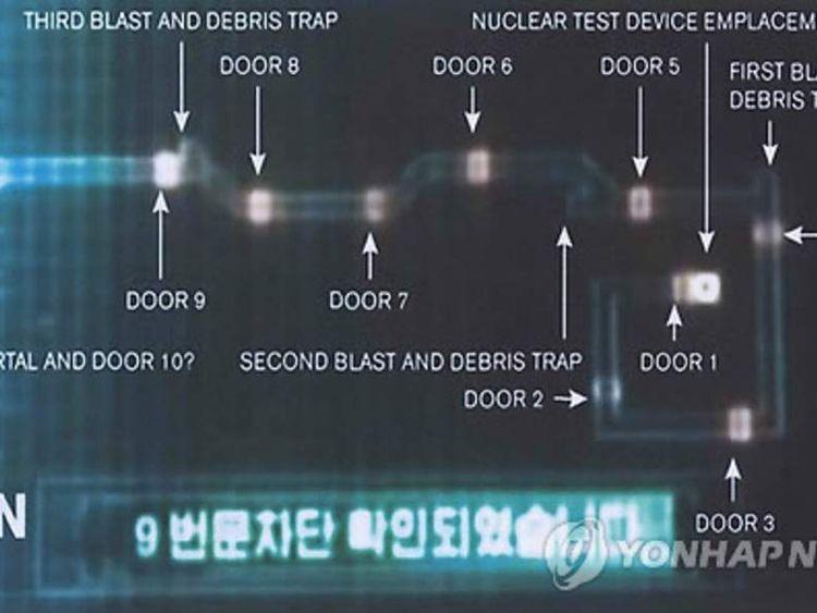 Nuclear test facility