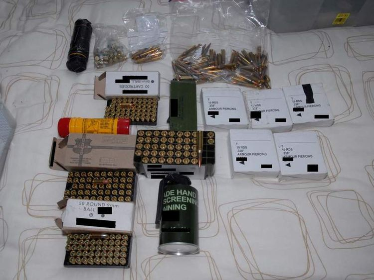 Ammunition found at Danny Nightingale's house