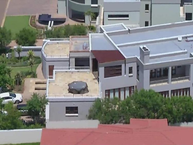 The property is in an expensive part of Pretoria