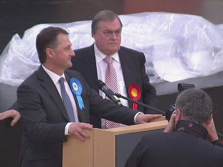 Lord Prescott fails to become the police and crime commissioner for Humberside