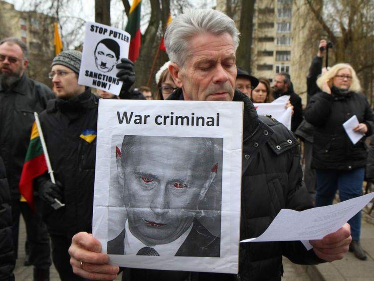 Anti-Putin demonstrations