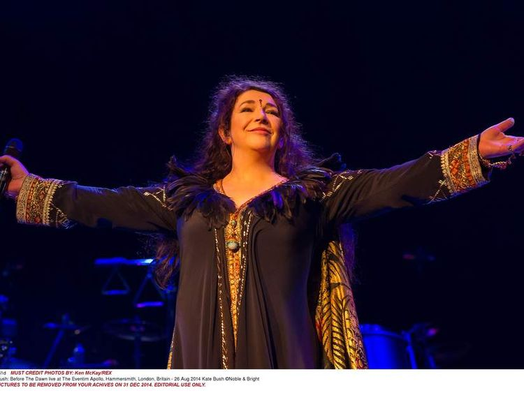 Kate Bush: Before The Dawn live at The Eventim Apollo, Hammersmith, London, Britain - 26 Aug 2014