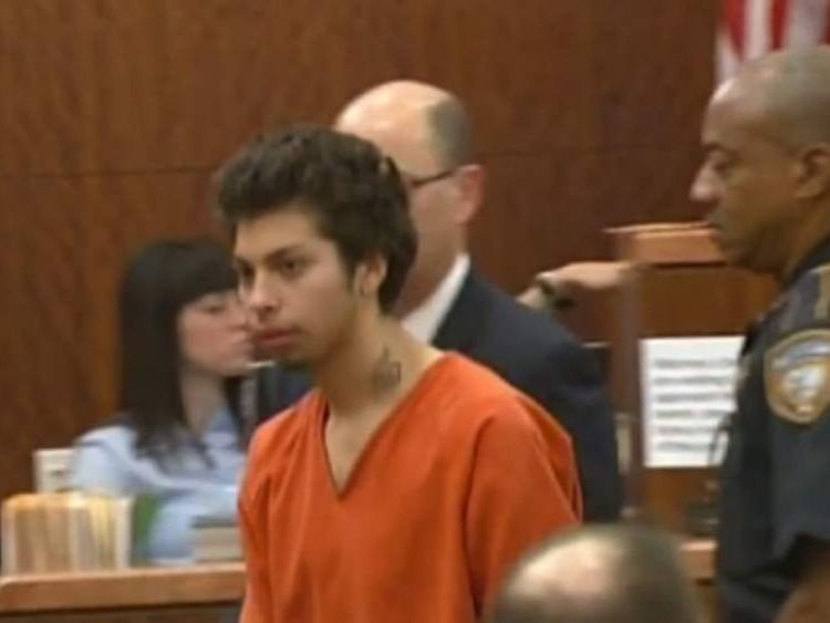 Reyes,17, accused of sexually assaulting then killing 15-year-old girl in 'deal with devil'. Pic: KTRK