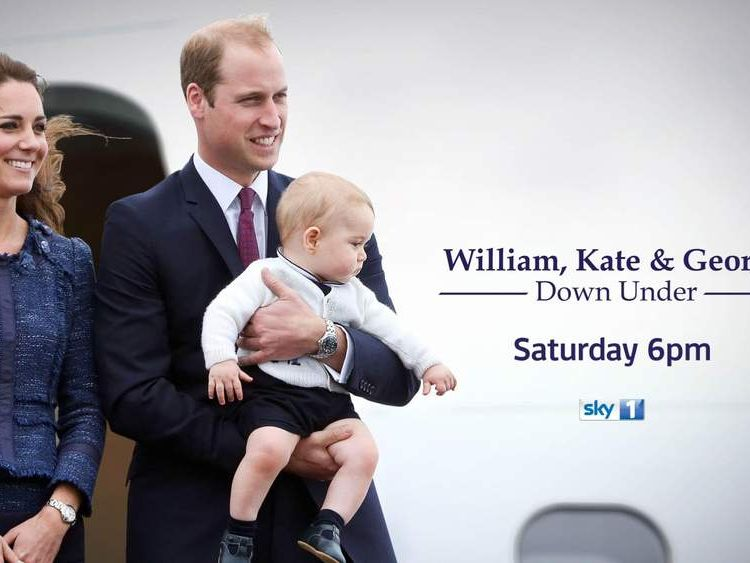 Watch a special programme about the royal tour of Australia on Sky 1