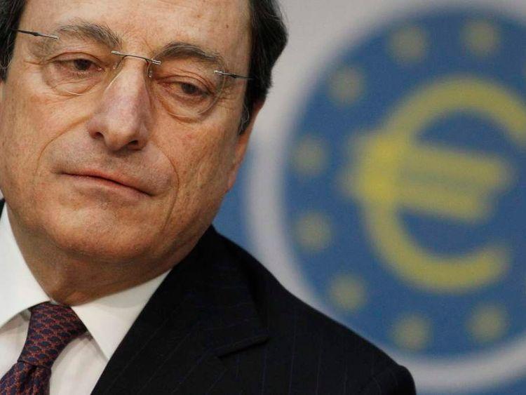 ECB president Mario Draghi