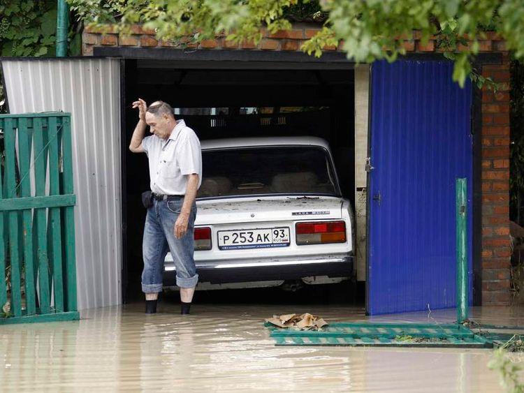 Russian floods