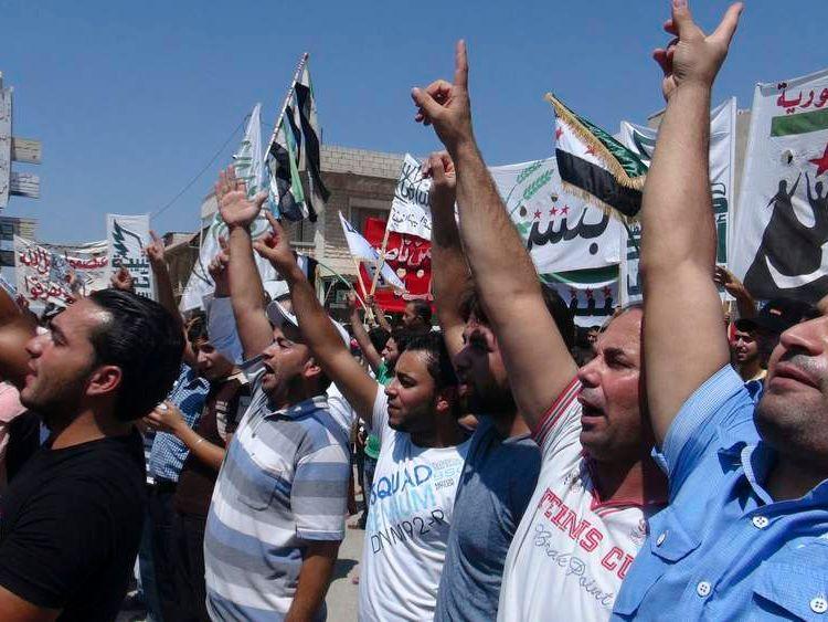 Protests in Idlib