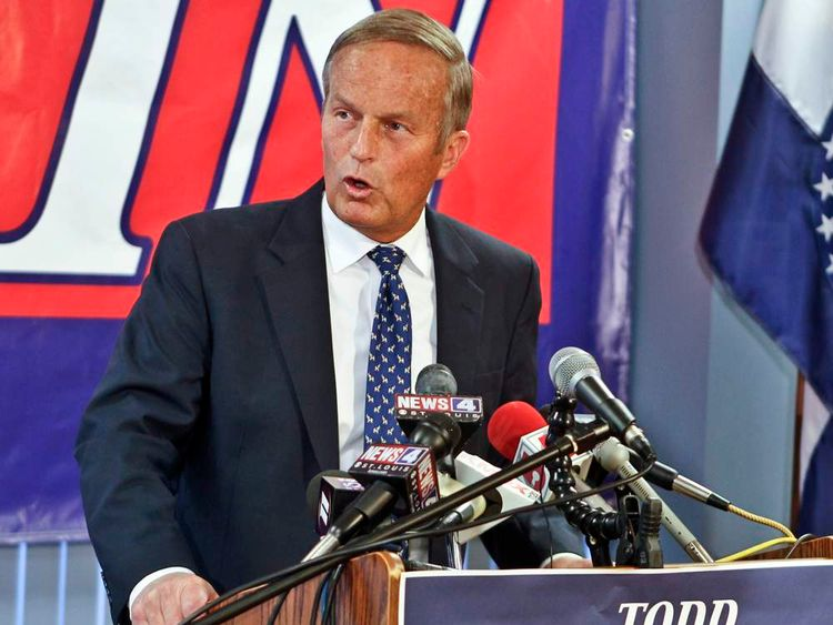 Todd Akin stages first press conference after rape victim comments