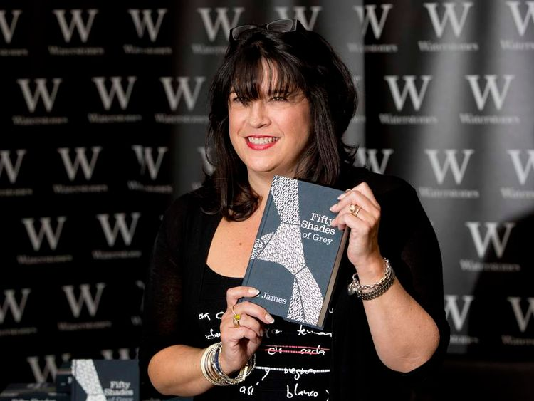 Fifty Shades Of Grey author E L James