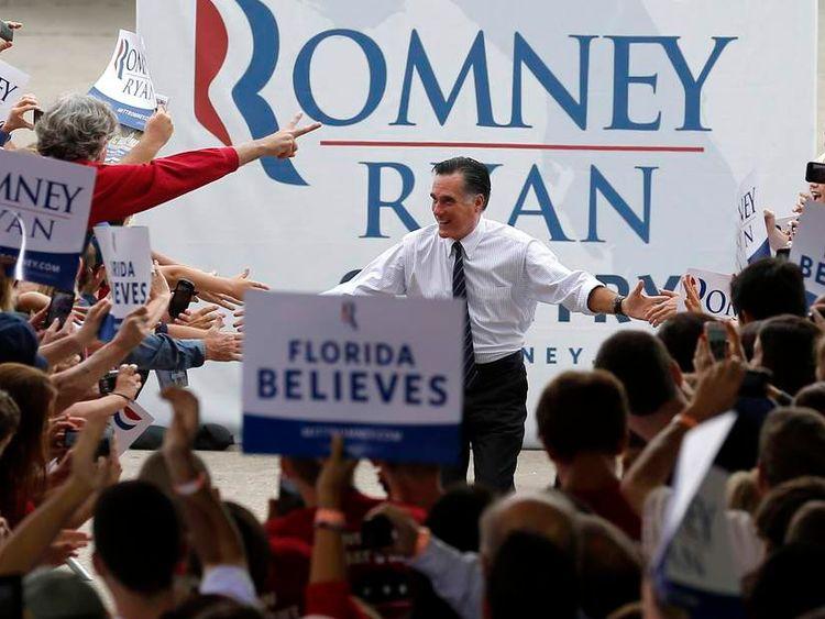 Romney in Florida