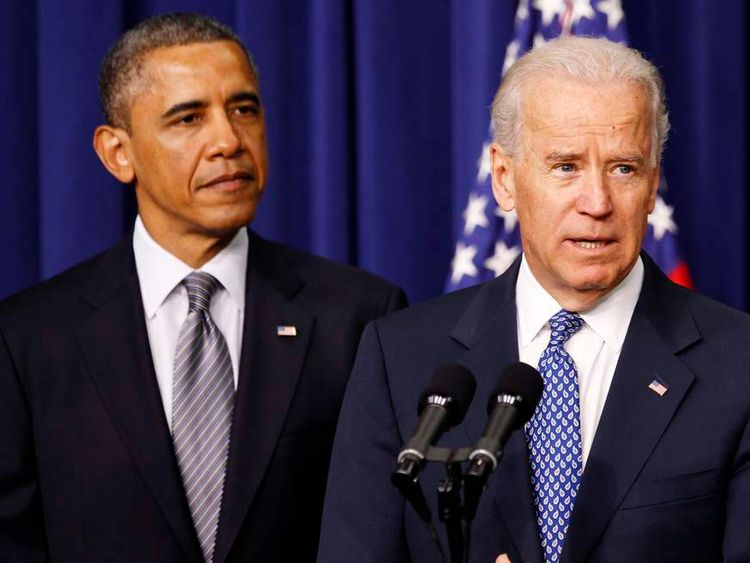Vice President Joe Biden speaks ahead of President Barack Obama's gun control announcement