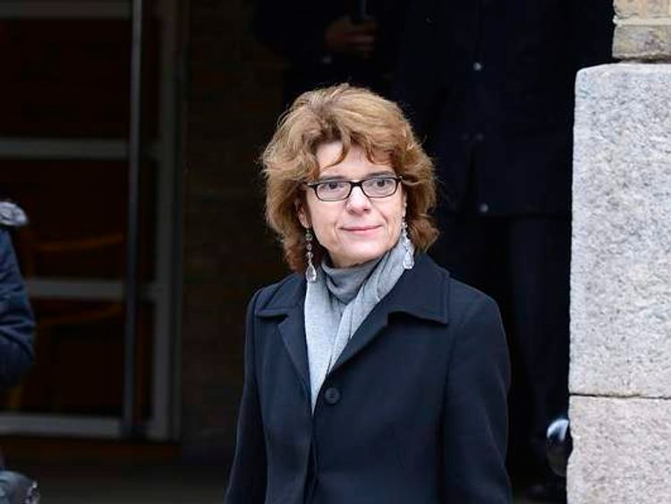Vicky Pryce arriving for her sentencing