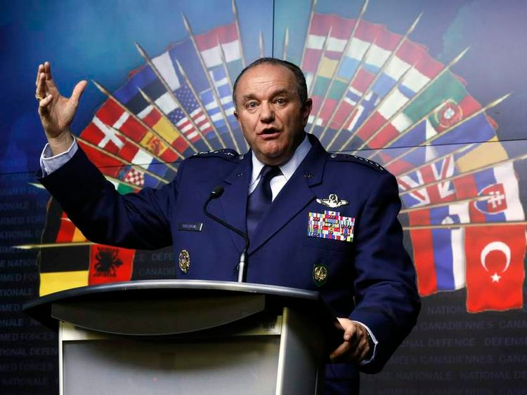 NATO Supreme Allied Commander Europe Philip Breedlove