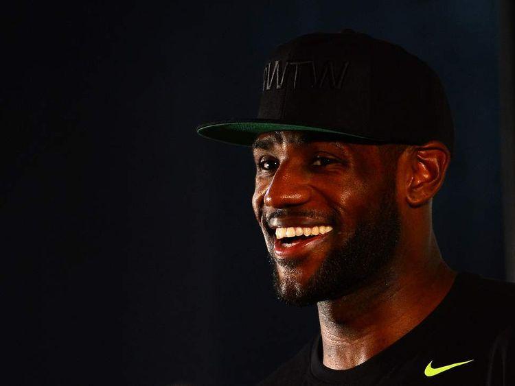 NBA: LeBron James Family Foundation Reunion and Rally