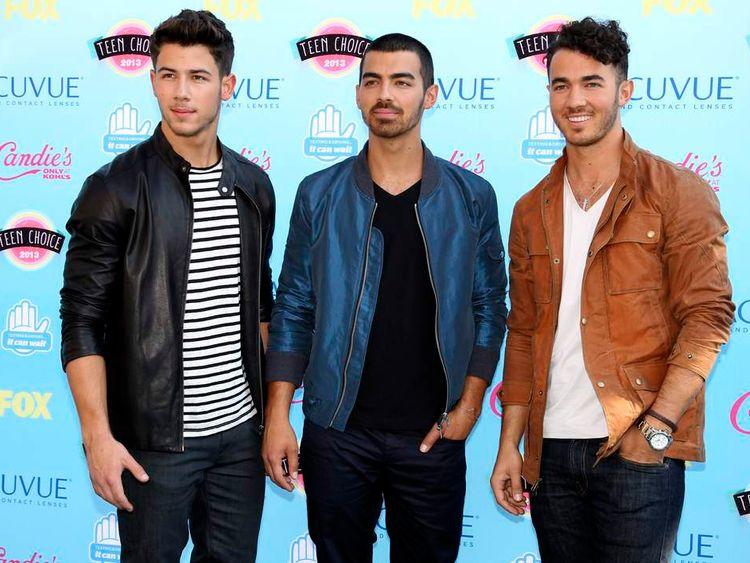 Jonas Brothers at the Teen Choice Awards