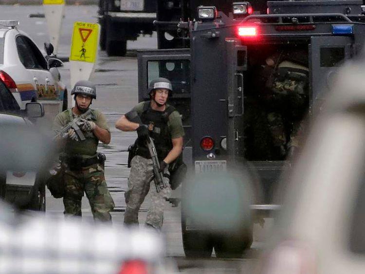 Gunman kills 12 at Navy Yard in Washington