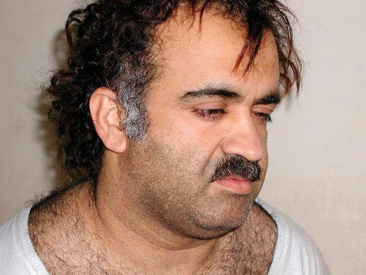 Khalid Sheikh Mohammed during his arrest