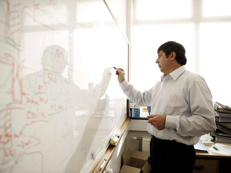 Graphene researcher and Nobel Prize-winner Andre Geim