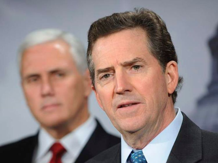 U.S. Senator DeMint and Representative Pence
