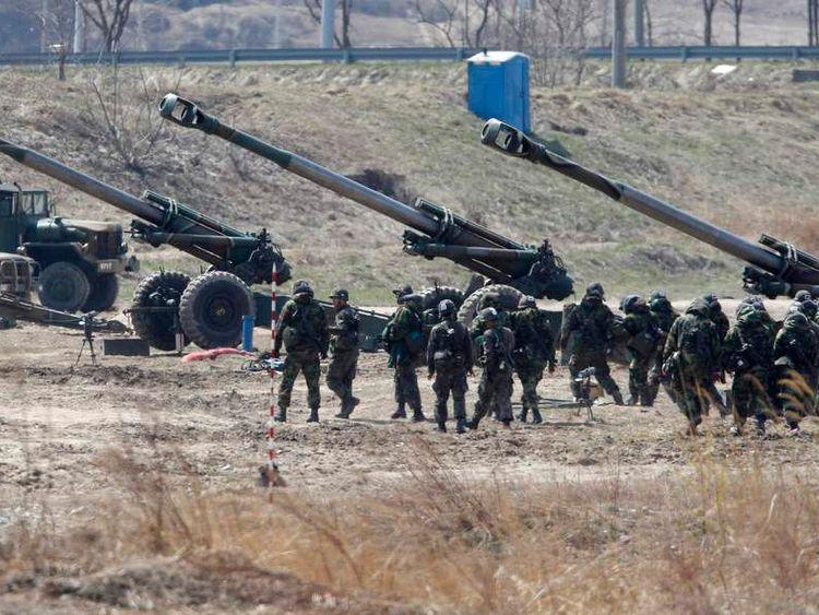 South Korean border shooting