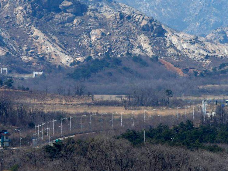 South Korean guard post shooting