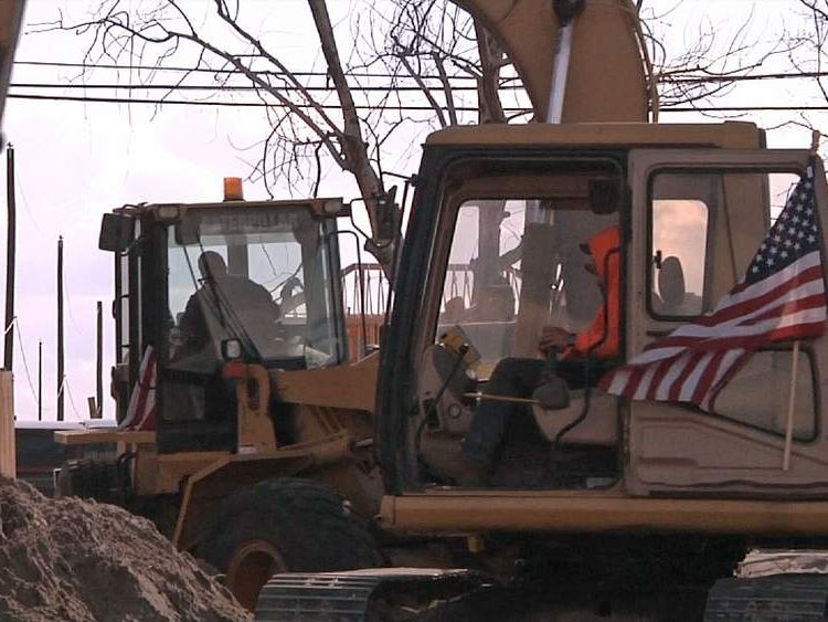 Superstorm Sandy rebuilding in Breezy Point, NY