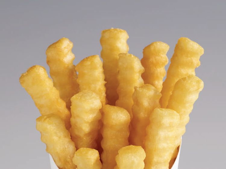Burger King's Lower-Fat Fries