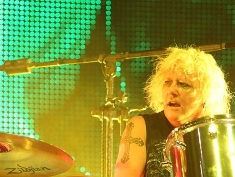 Musician James Kottak performs in concert with the Scorpions at the Alamodome on June 26, 2012 in San Antonio, Texas
