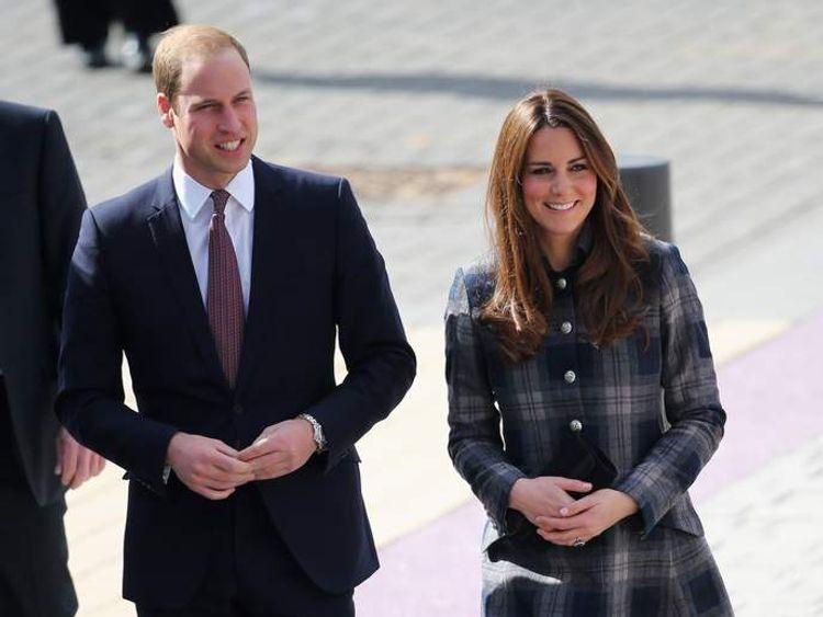 William and Kate Visit Scotland