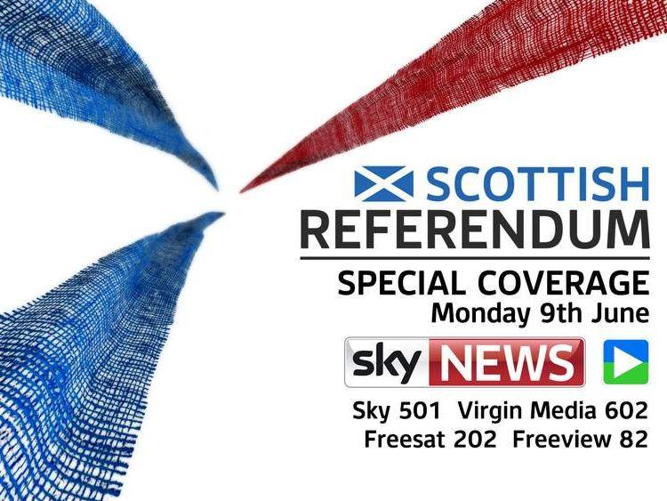 Sky's coverage of Scottish Referendum