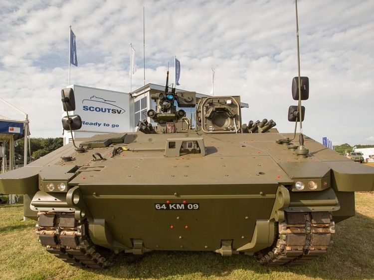 General Dynamics SCOUT SV armoured vehicle