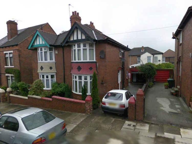 The operation was run from this house in Rotheram