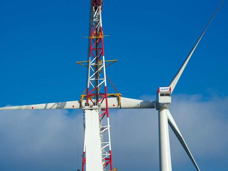 Siemens -turbine-being-assembled