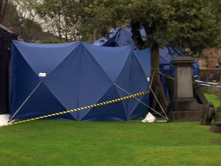 The graves in Lanarkshire being exhumed