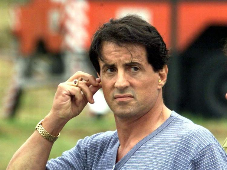 American movie star Sylvester Stallone worked with Simon West