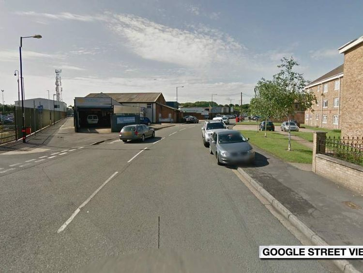 Spackmans Way, close to where the rape is said to have happened