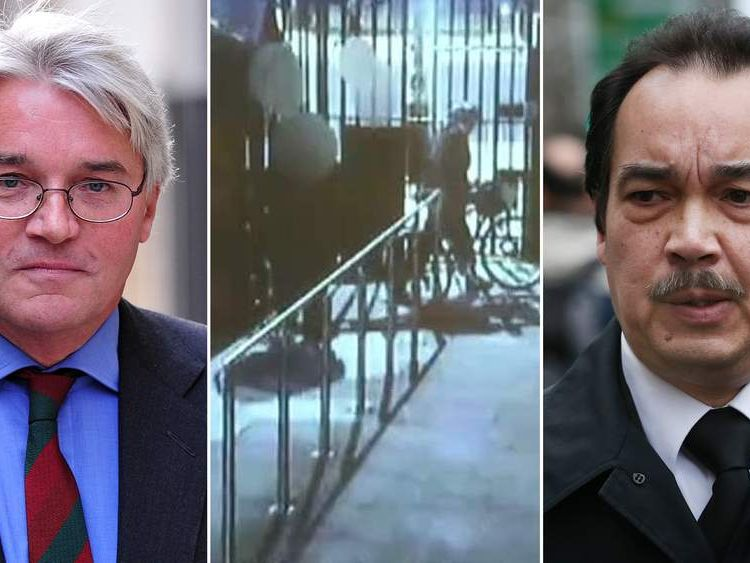 Andrew Mitchell & Police Constable Keith Wallis