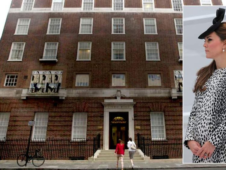 The Duchess of Cambridge is to give birth at St Mary's Hospital.