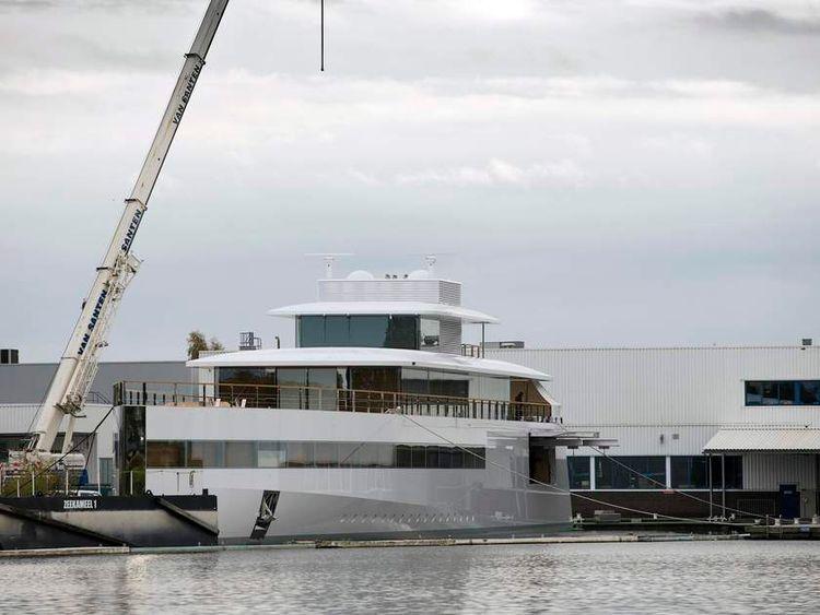 Steve Jobs' yacht