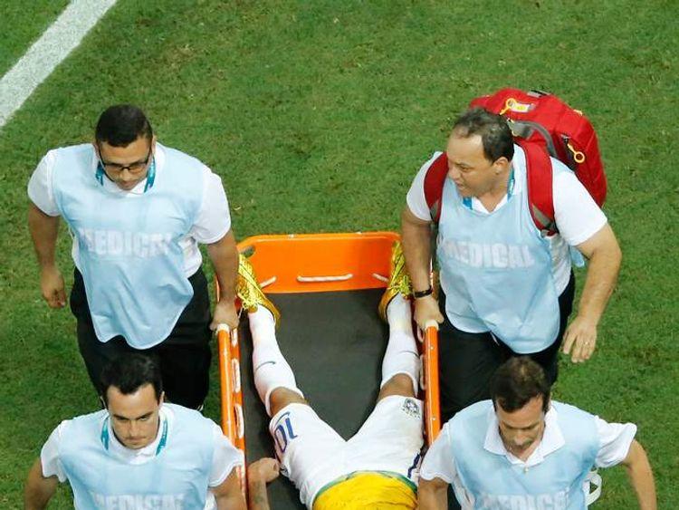 Neymar Doubt For Semi-Final