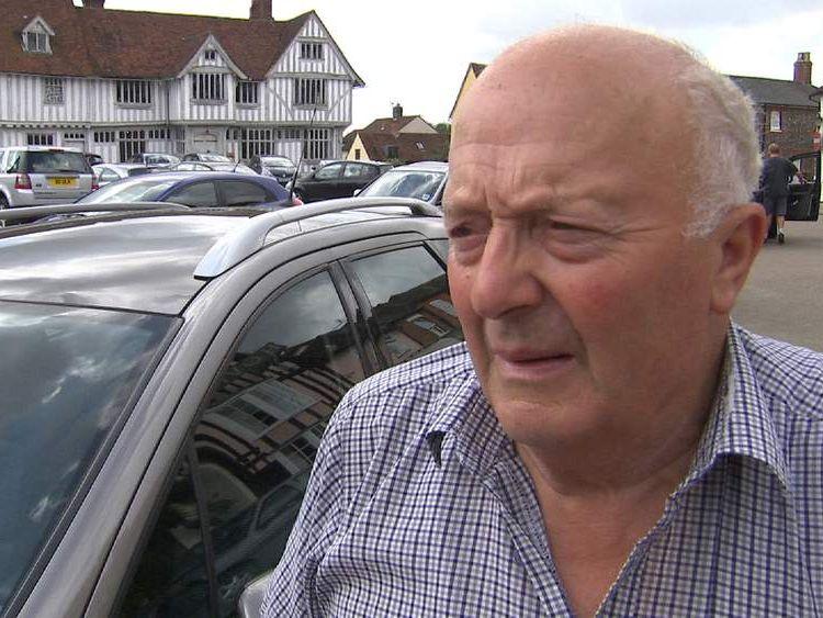 Tim Rhodes, from Suffolk