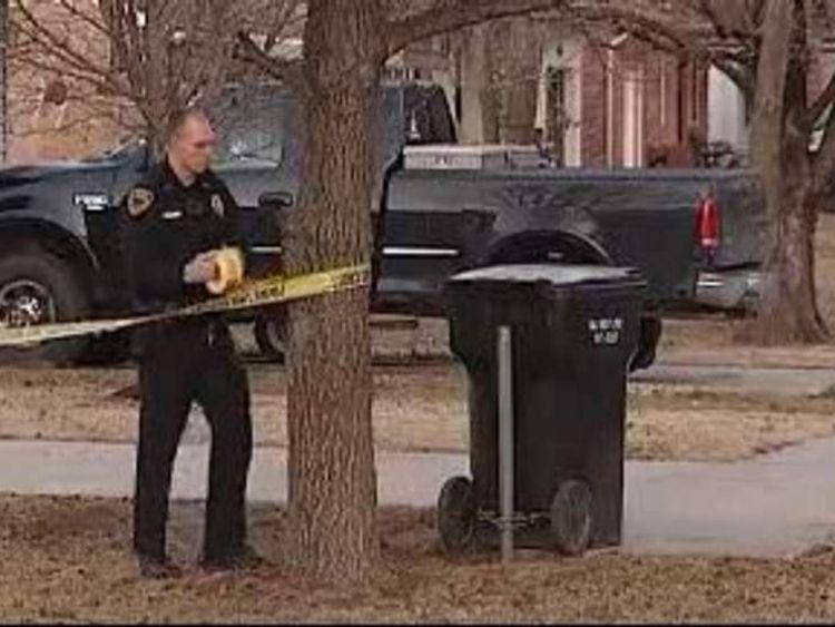 Suspect's home in Missouri