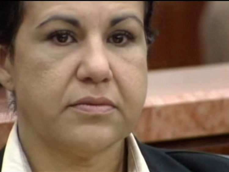 Ana Trujillo in court