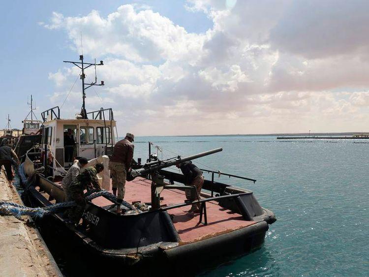 Oil tanker Morning Glory in Libya