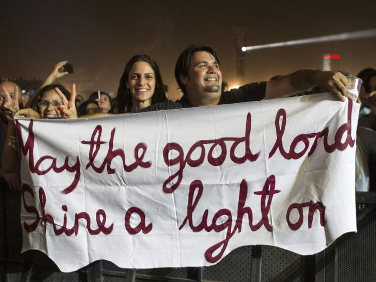 Fans in Israel enjoy the controversial gig the Rolling Stones went ahead with