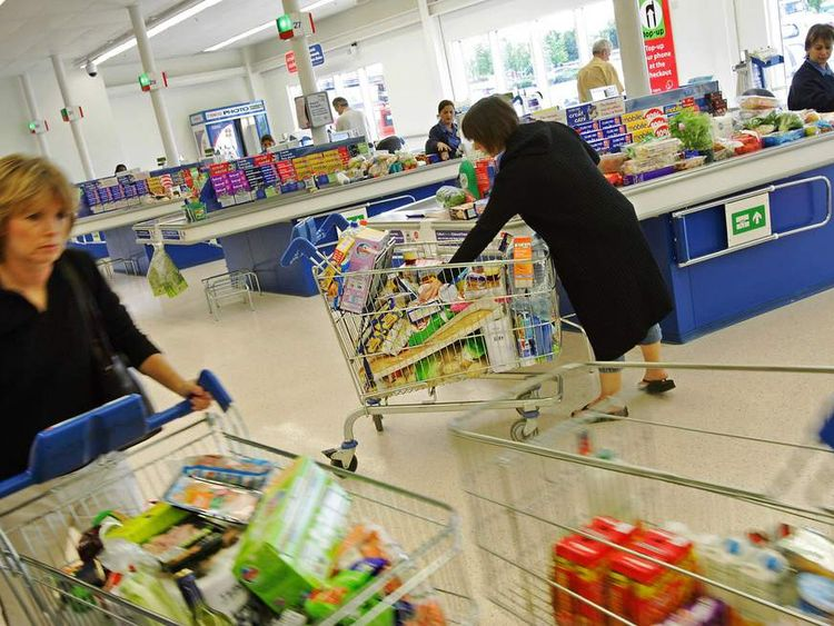 Stores know you will be waiting to pay for a few minutes, so there are always tempting treats by the till